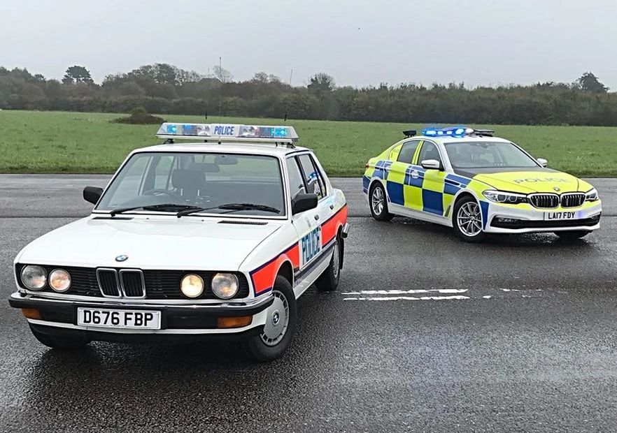 The old and the new BMW 30 years apart.