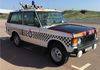 Looking grand in the sunshine Geoff Taylor's GMP Traffic Range Rover Classic V8.