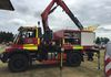 West Sussex FRS Hanomag showing off it's capabilities to the visitors.