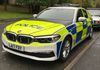 On evaluation with Hampshire Constabulary BMW's latest Police demonstrator the 5 Series G30.  One half of the Promo photo shoot.