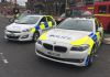 Different ends of the GMP vehicle spectrum.  The RPU BMW F10 with the Hyundai i30 IRV