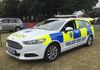 Sussex Police Ford Mondeo Dog Unit.   Bit of a barker in the back of this one so no rear shot.