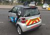 GMP 'Drivesafe' team Smart car with roof mounted CCTV camera.