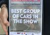 Certificate for 'Best Group of Cars in the Show.  Nice one!
