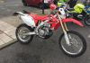 Honda CRF450X Trailie used by GMP RPU to combat the current rise in scooter and bike related crime.