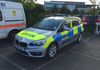 Some thing new on the scene a Metropolitan Police BMW Series 2 Tourer IRV.