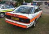 Ford rear end elegance at its best.on this Derbyshire Constabulary Granada Scorpio ARV