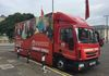 Another Iveco based vehicle used by GMFRS.  This truck has been converted for use in Community Engagement.