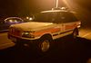 Tucked up at Sedgeley Park the night before the show the GMP Range Rover P38..