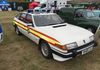 Andy Lawrence brought his 1985 Sussex Police Rover SD1 3500SE V8.  Not quite at home this car was based at Brighton in it's time.