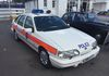 First time that I have seen this on display.  Gary Byrne's latest aquisition a Metropolitan Police Service Ford Sierra Area Car.