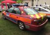 Armed officers on board as denoted by the yellow discs.   Metpol RDPG Vauxhall Omega.  Owner: Glenn Harvey