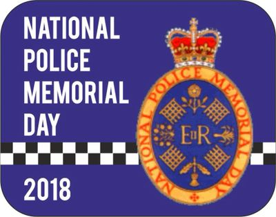 Badge of the National Police Memorial Day