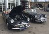 Two superb examples of Metropolitan Police Daimler Dart SP250's. Note the VRM's