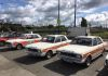 After a little shuffle around we managed to get all three Lotus Ford Cortina's lined up next to each other.