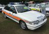 Early Derbyshire Constabulary Ford Granada Scorpio ARV.  Owners: Stuart and Tracey Cooke