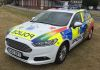 A very colourful Sussex Police Ford Mondeo Estate skinned up for the annual 'Pride' parade.