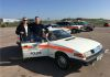 Ant Anstead posing with Chris Taylor and his Metropolitan Police SEG Rover 3500 V8