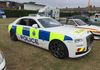 So here's the welcome interloper done up in Sussex Police markings.  This stunning Rolls Royce Ghost certainly attracted a lot of attention.