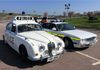 Another pair of different era vehicles.  This time Jaguars with the Staffordshire 240 and the Wiltshire XJ6.  How cars change!