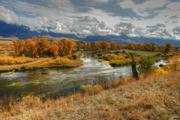 Montana private water fly fishing.  Bozeman, Montana fly fishing.  Paradise Valley fly fishing.