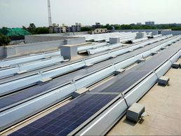 Solar module mounting Structure rooftop solar structure solar panel mounting structure