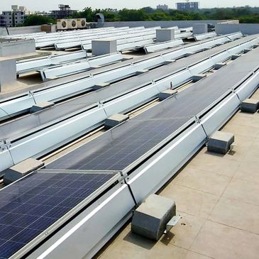 Solar Module Mounting Structure, Solar EPC