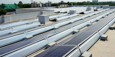 solar Structure, Solar Ballast Mounting structure, Solar structure in India, Solar structure company