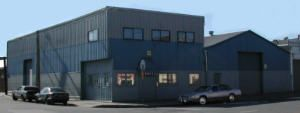 San Francisco, California. Commercial real estate: warehouse for sale.