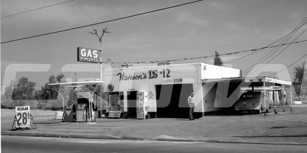 Hanson's gas and service station, tucson arizona.