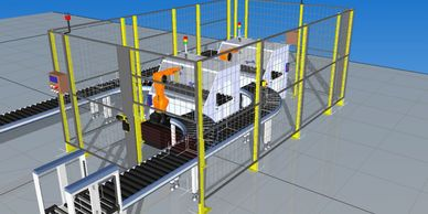 Complete system simulation capabilities to verify system operation and help optimize workflow