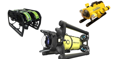 Seabotix vLBV 300, Boxfish ROV, JW Fisher Sea Otter