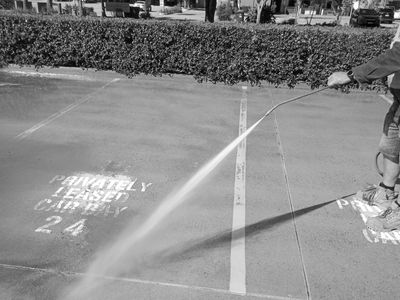 Pressure washing, high pressure cleaning, Industrial Cleaning