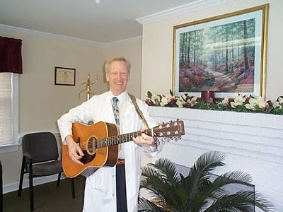 Steve blends music and song with practical advice, and also teaches guitar, piano, banjo and voice