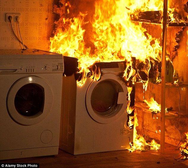 Clothes Dryer Lint Is a Fire Hazard