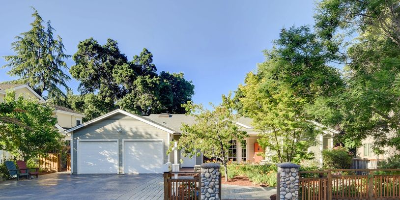 Gorgeous Saratoga Village home for sale. Silicon Valley Real Estate. Executive home for sale.