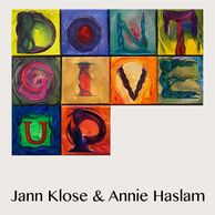 Jann Klose with Annie Haslam Don't Give Up Single Art Written by Peter Gabriel
