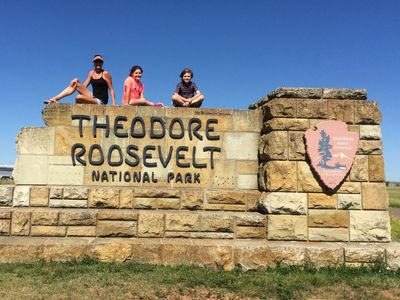 I found my Park!  Theodore Roosevelt National Park (2014).