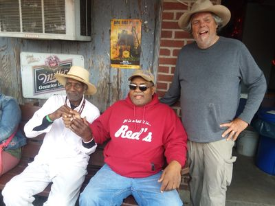 Mr Gip, Red and I, Red's Juke Joint March 2018, Clarksdale, Mississippi