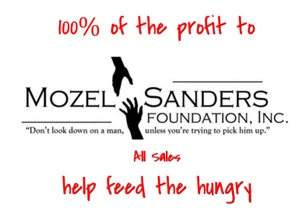 MOZEL SANDERS FOUNDATION SMOOTH & SPICY Barbecue sauce