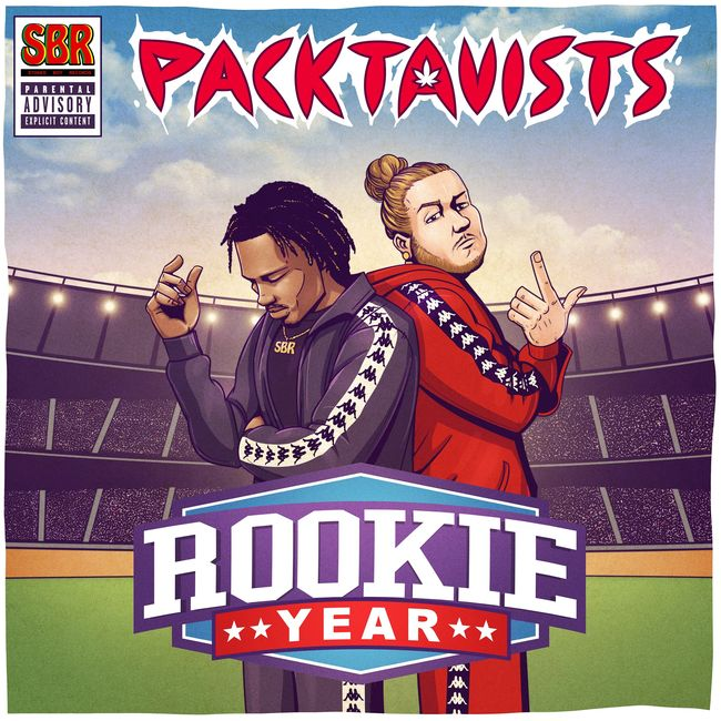 Icarus and Gateway on the cover of Rap Hip-Hop genre EP Rookie Year