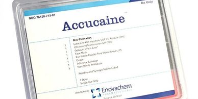 ACCUCAINE Lidocaine HCI Injection, USP 1% Ampule (5mL) x1