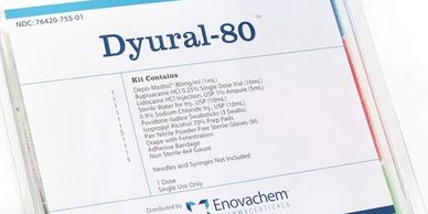 DYURAL-80 Depo-Medrol®  Marcaine™ 0.25%  Lidocaine HCI Injection, USP 1% Ampule