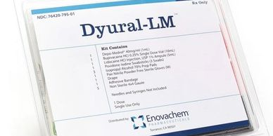 DYURAL-LM 1-Depo-Medrol®  1-Marcaine™ 0.25% Single Dose Vial (10mL) x1 1-Lidocaine HCI Injection