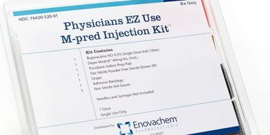PHYSICIANS EZ USE M-PRED INJECTION KIT Marcaine 0.5% Single  Depo-Medrol 40mg/mL (5mL) x1
