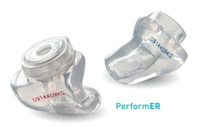 Custom made musician filtered ear moulds