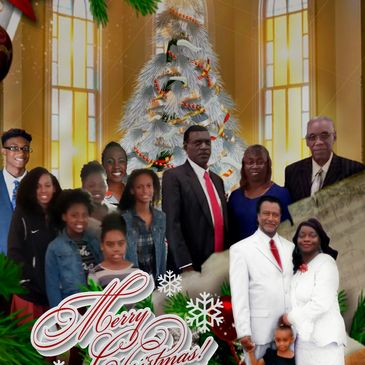 Season Greetings  from   Bethel St. Paul United Baptist Church  Sunday School Young Adult Class