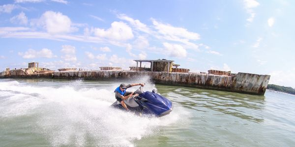 Poseidon Watersports jet ski rental services near Virginia Beach, Virginia