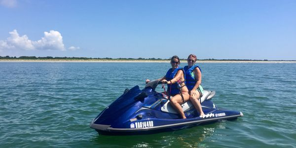 Poseidon Watersports jet ski rental services Cape Charles Virginia