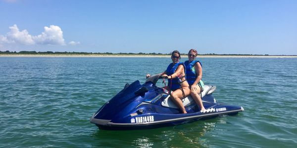 Poseidon Watersports jet ski rental service Cape Charles Virginia
